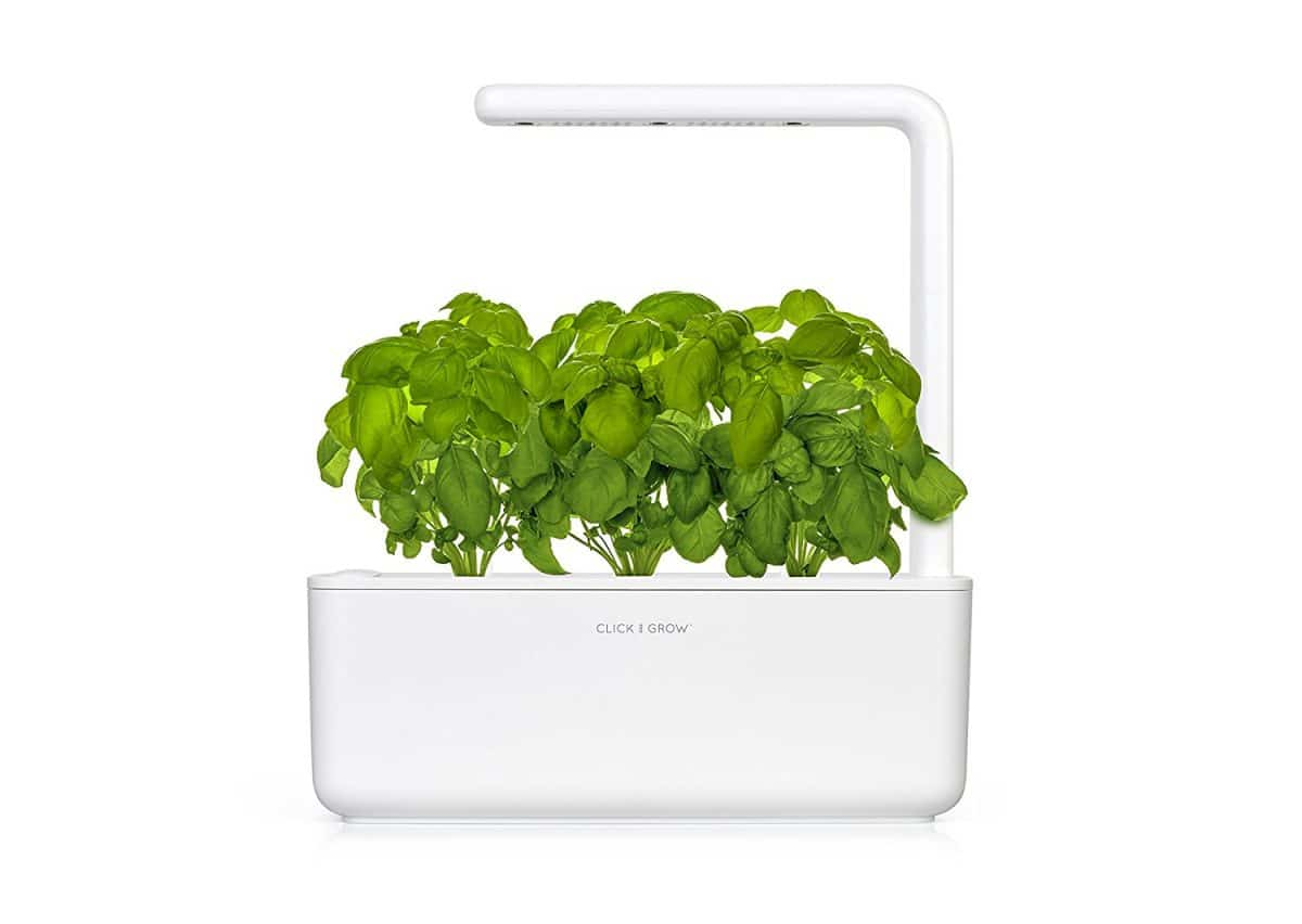 click and grow smart garden planter