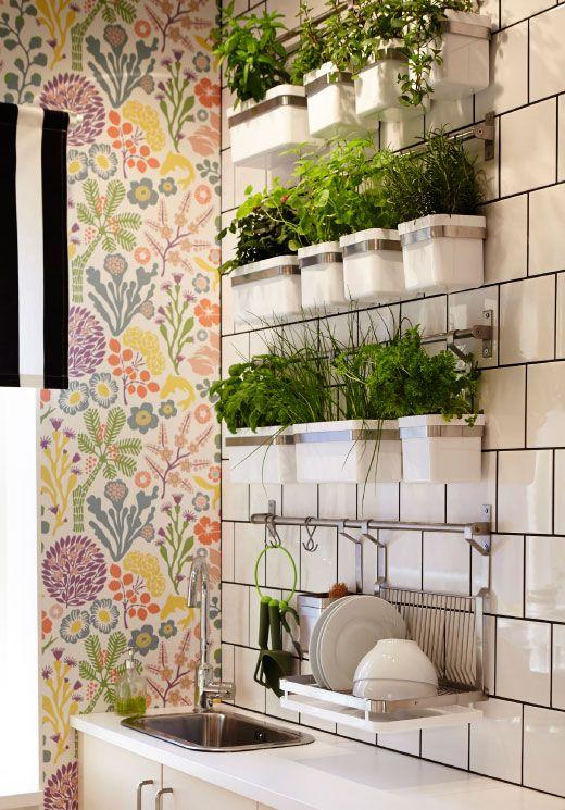 IKEA herb pots