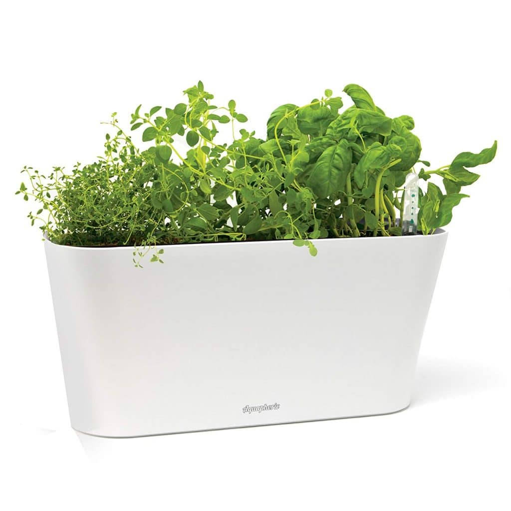 modern indoor planter herb garden