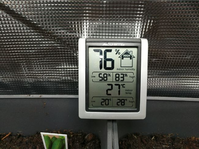 temperature in grow tent mars hydro ts 1000w