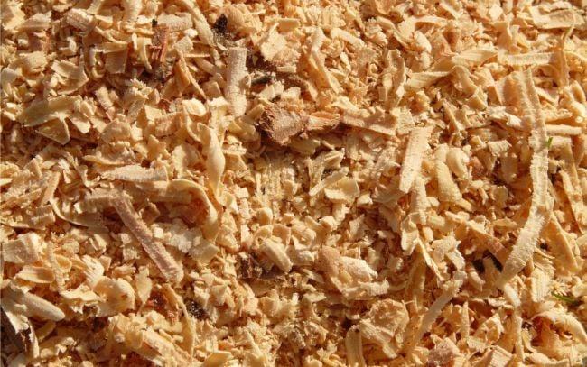 wood fiber for the garden